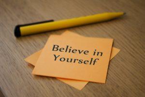 あなた自身を信じて