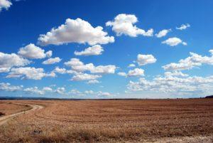 大地に浮かぶ雲